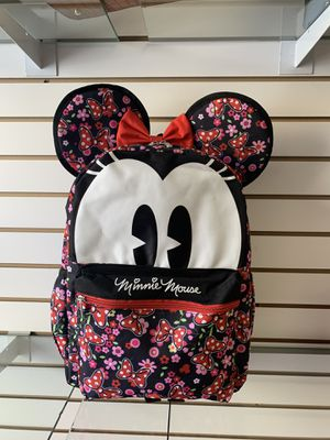 Minnie Mouse backpack with 3D ears for Sale in Los Angeles, CA