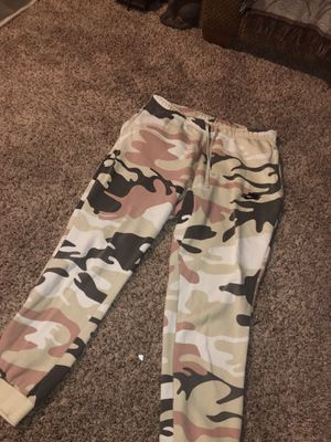 Camo Nike sweat pants for Sale in Worthington, OH