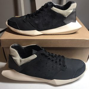 Adidas Rick Owens Tech Runner Black Sz 10.5 for Sale in Wake Forest, NC