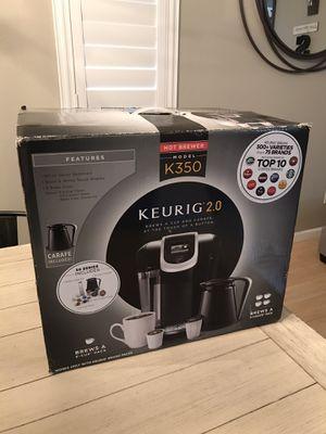 Keurig K350 2.0 brewing system for Sale in Corona, CA