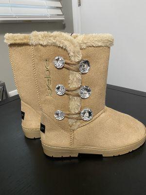 Bebe kids tan snow boot for Sale in Gallatin, TN