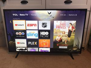 """TCL 1080p LED LCD Roku TV 43"""" 60Hz for Sale in Fripp Island, SC"""