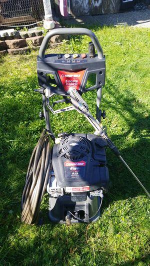 Troybilt 3100psi pressure washer for Sale in Everett, WA
