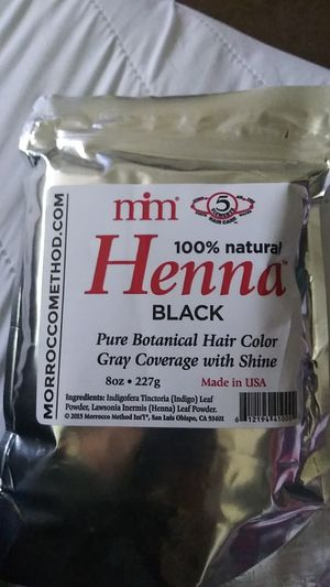 100 Natural black Henna , excellent hair color to cover gray. for Sale in Hayward, CA