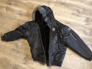 Avirex hooded winter coat! Barely worn. Like new. for Sale in Adamstown, MD