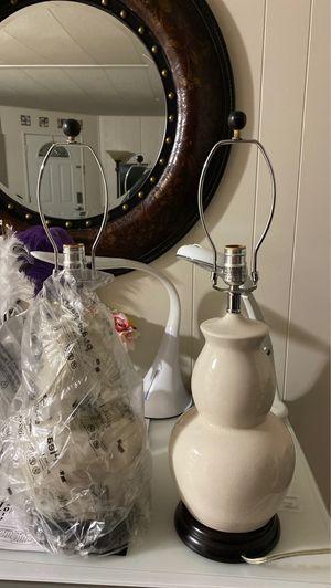 2 lamps for Sale in Murrieta, CA
