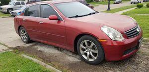 2005 infinity g35 parts for Sale in Fort Worth, TX
