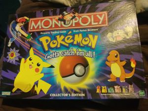 Monopoly Pokemon Collectors Edition for Sale in Natrona Heights, PA