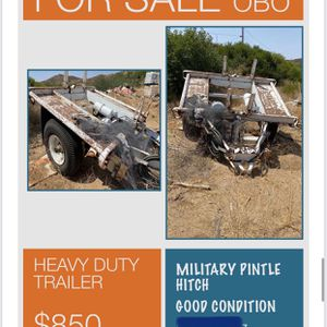 TRAILER for Sale in El Cajon, CA