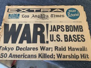 30+ LA TIMES HISTORIC NEWSPAPERS & HEADLINES! JFK, RFK, WW1, LBJ & REAGAN for Sale in Las Vegas, NV