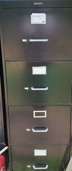 File cabinet black for Sale in Redford Charter Township, MI
