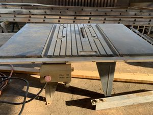 small table saw for small projects for Sale in Phoenix, AZ