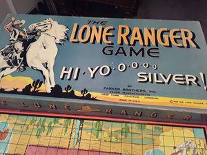 1938 Lone Ranger board game complete for Sale in Nashville, TN