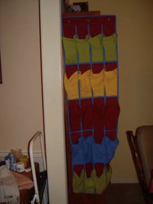 Over the door shoe organizer for Sale in Herndon, VA