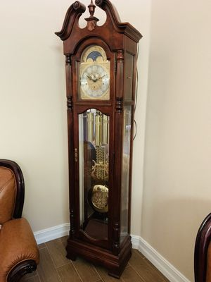 China clock antique gold plated for Sale in Orlando, FL