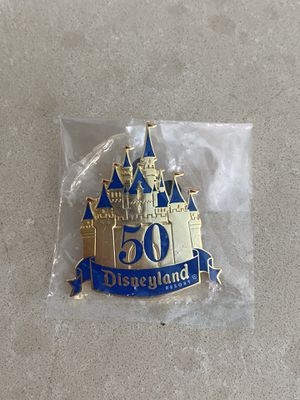 Rare Disney Cast member 50th anniversary pin for Sale in Long Beach, CA