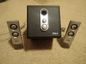 AVOL Subwoofer and Speakers Set (Model: AS200) for Sale in Clarksville, TN