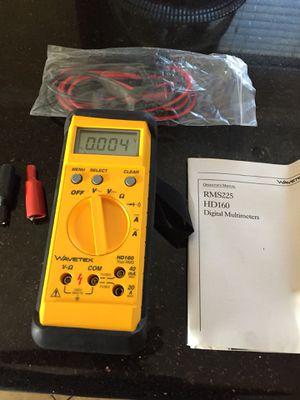 DIGITAL MULTIMETERS WAVETEK NEW RETAIL PRICE 120 for Sale in Perris, CA