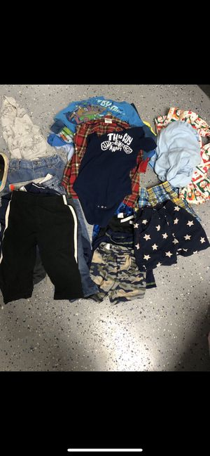 30 pieces of 18 months boy clothes / accessories for Sale in Chula Vista, CA
