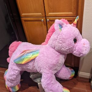 Jumbo Stuffed Animal Unicorn Sparkle Rainbow Nwt NEW Valentine's Day Easter for Sale in Las Vegas, NV