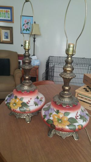 Vintage lamps for Sale in Durham, NC