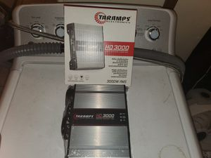 3000WATTS RMS TARAMPS 1 OHM PERFECT FOR CHUCHERO BOXES OR SUBWOOFERS OR DOOR SPEAKERS AND MORE for Sale in Yonkers, NY