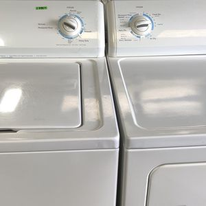 Kenmore heavy duty top load washer and electric dryer delivery and installation available fee depends on address for Sale in Houston, TX