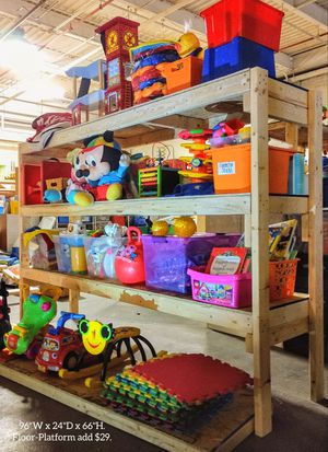 STORAGE for TOYS AND GAMES. DELIVERY AND SET-UP AVAILABLE! for Sale in Portage, MI