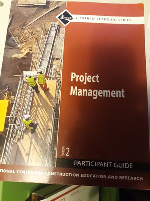 Project management edition 2 participants guide textbook for Sale in Lancaster, OH