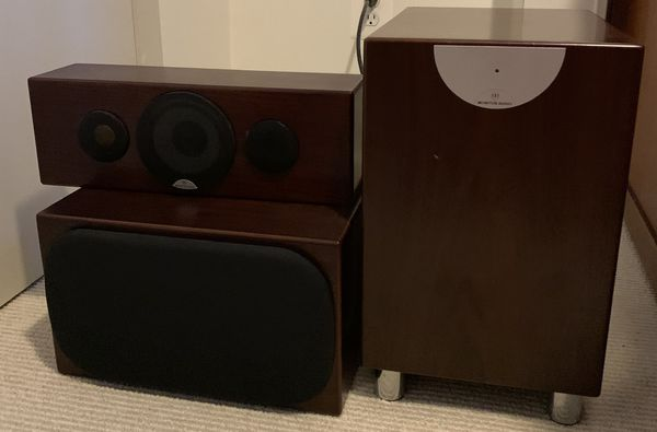 Monitor Audit Home Theater/Audio Speaker System