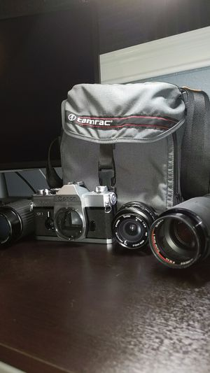 Cannon FD Bundle with Lenses for Sale in Brentwood, CA