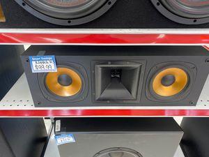 CENTER KLIPSCH RC3 no front cover for Sale in Phoenix, AZ