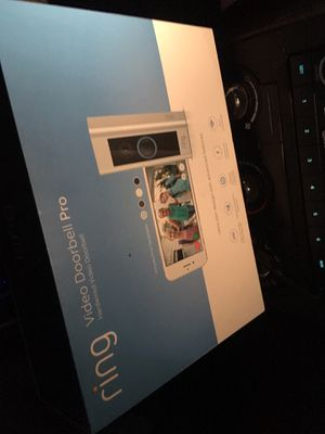 Ring doorbell pro for Sale in Tacoma, WA
