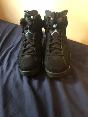 Unc Blue Jordan 6's Size 13 for Sale in Oxon Hill, MD