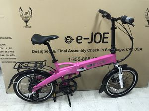 Folding Electric Bike for Sale in San Marcos, CA