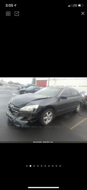 2004 Honda Accord for parts for Sale in Vancouver, WA