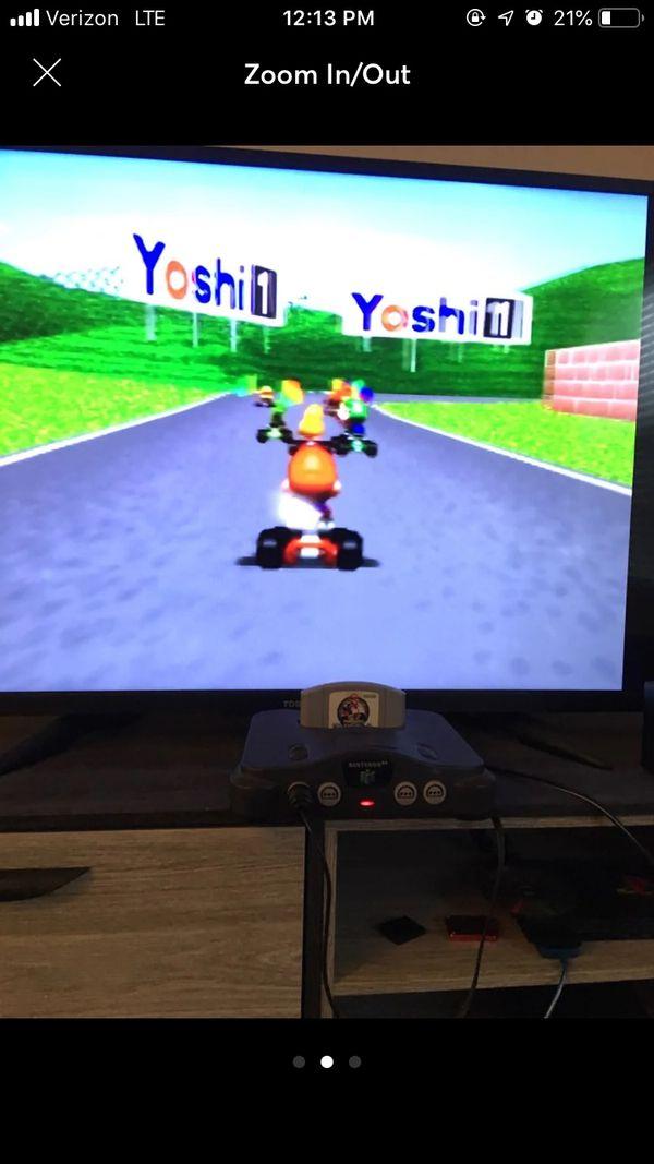 N64 Mario games