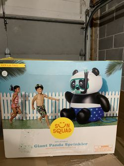 Inflatable Giant Panda Sprinkler for Sale in Gaithersburg,  MD
