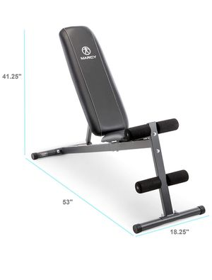 Marcy adjustable exercise weight bench for Sale in San Jose, CA