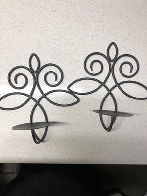 Wall Sconces with Candle Holder - set of 2 for Sale in Dallas, TX