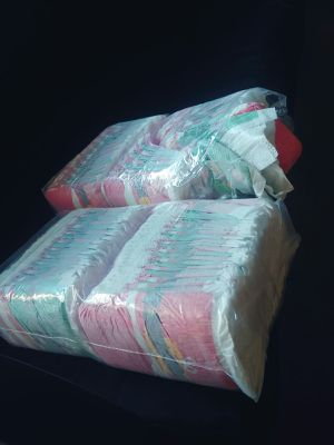Two pampers packages 1 bag is open. size 1 for Sale in Las Vegas, NV