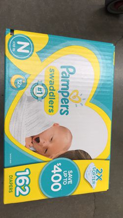 New Unopened newborn pampers swaddlers for Sale in Englishtown,  NJ