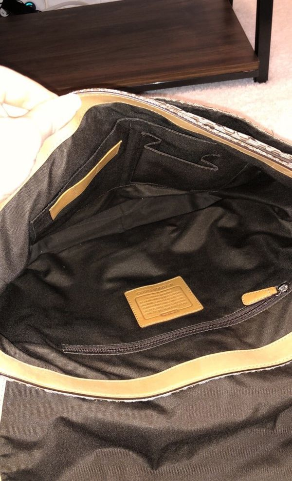 Coach Signature Messenger Bag with Wallet
