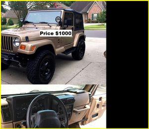 ֆ1OOO Jeep Wrangler for Sale in Santa Monica, CA