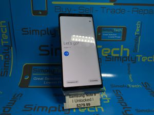 Samsung Galaxy Note 9 Unlocked for Sale in Vancouver, WA