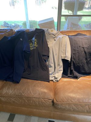 4 new men's T-Shirts & polo shirt size 2XL $3-4 each for Sale in Fresno, CA
