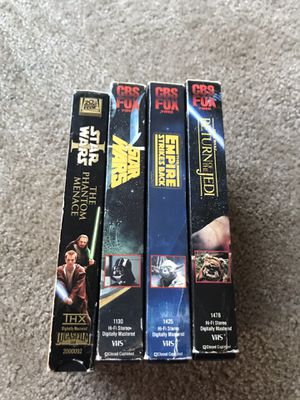 Star Wars VHS for Sale in Seattle, WA