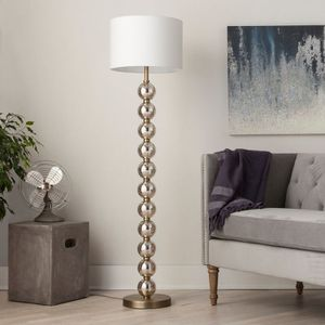 Floor lamp NEW gold silver chrome for Sale in Queens, NY