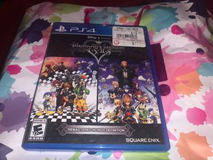 Kingdom hearts for PS4 for Sale in San Antonio, TX