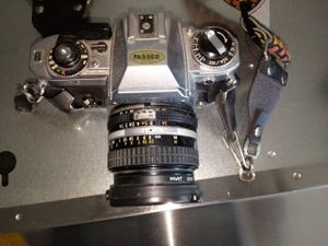 NIKON FG film cam w/52mm lense for Sale in Tucson, AZ